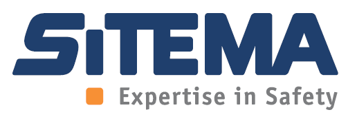 Sitema-Logo mit Expertise in Safety